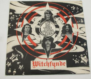 "WITCHFYNDE In The Stars 1980 UK 7"" P/S NWOBHM NEAR MINT AUDIO"